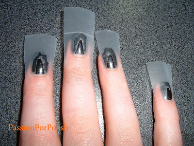 passionforpolish how to scotch tape nails
