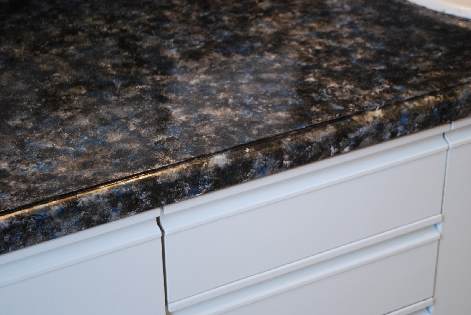 Faux Granite Countertop Paint Good Painting Over Dated Formica Countertops How To Kitchen