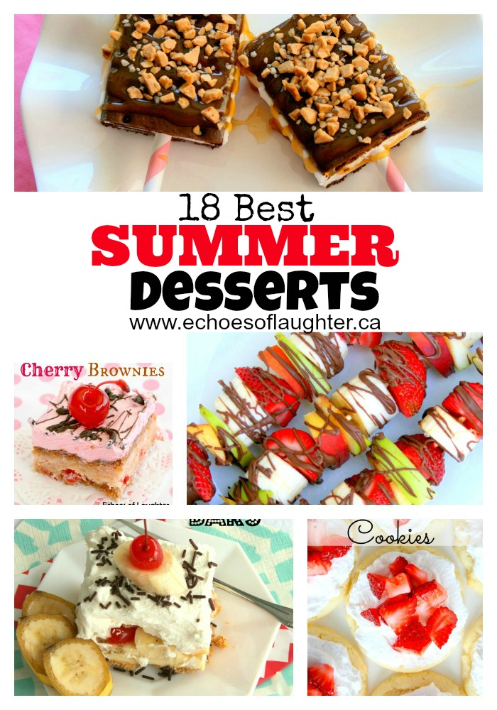 18 Best Summer Desserts Echoes Of Laughter