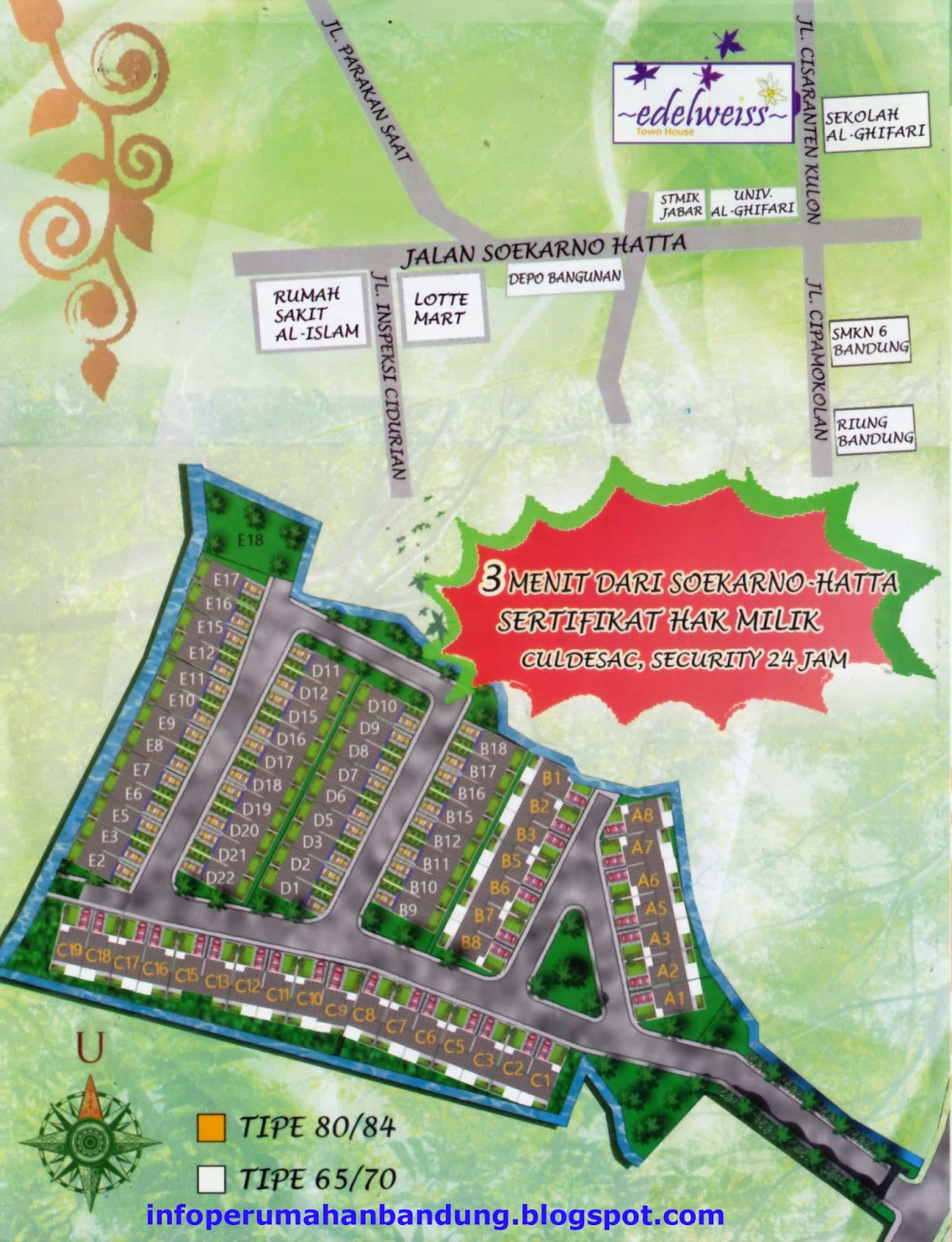 Perumahan Edelweiss Town House