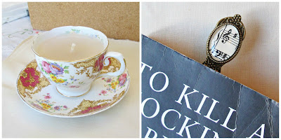 image teacup candle vintage upcycled music bookmark domum vindemia teacher appreciation gifts