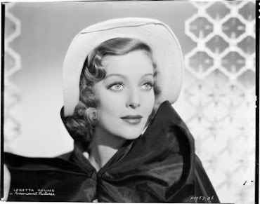 I enjoyed spotlighting the lovely Loretta Young in January 2013