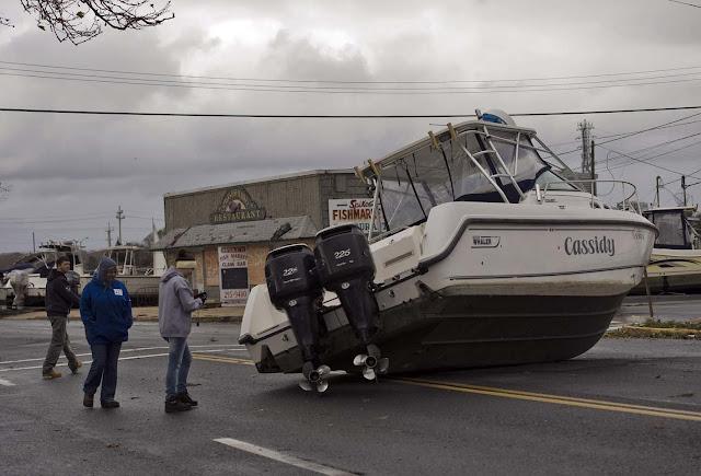Badai Sandy tewaskan 32 orang tewas