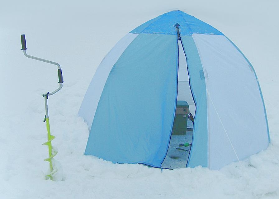 Палатка для зимней рыбалки — тепло и комфортно в любую погоду