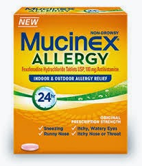 Mucinex Allergy Just $8.99 Each After Coupons at BJs