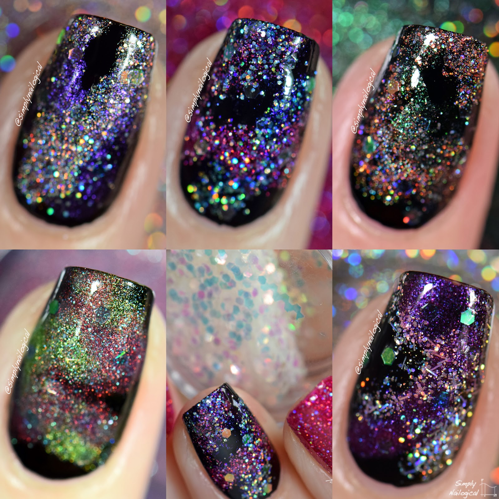 Polished by KPT - Cosmic Xodus I accent nails