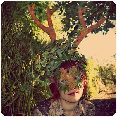Mabon antlers & mask