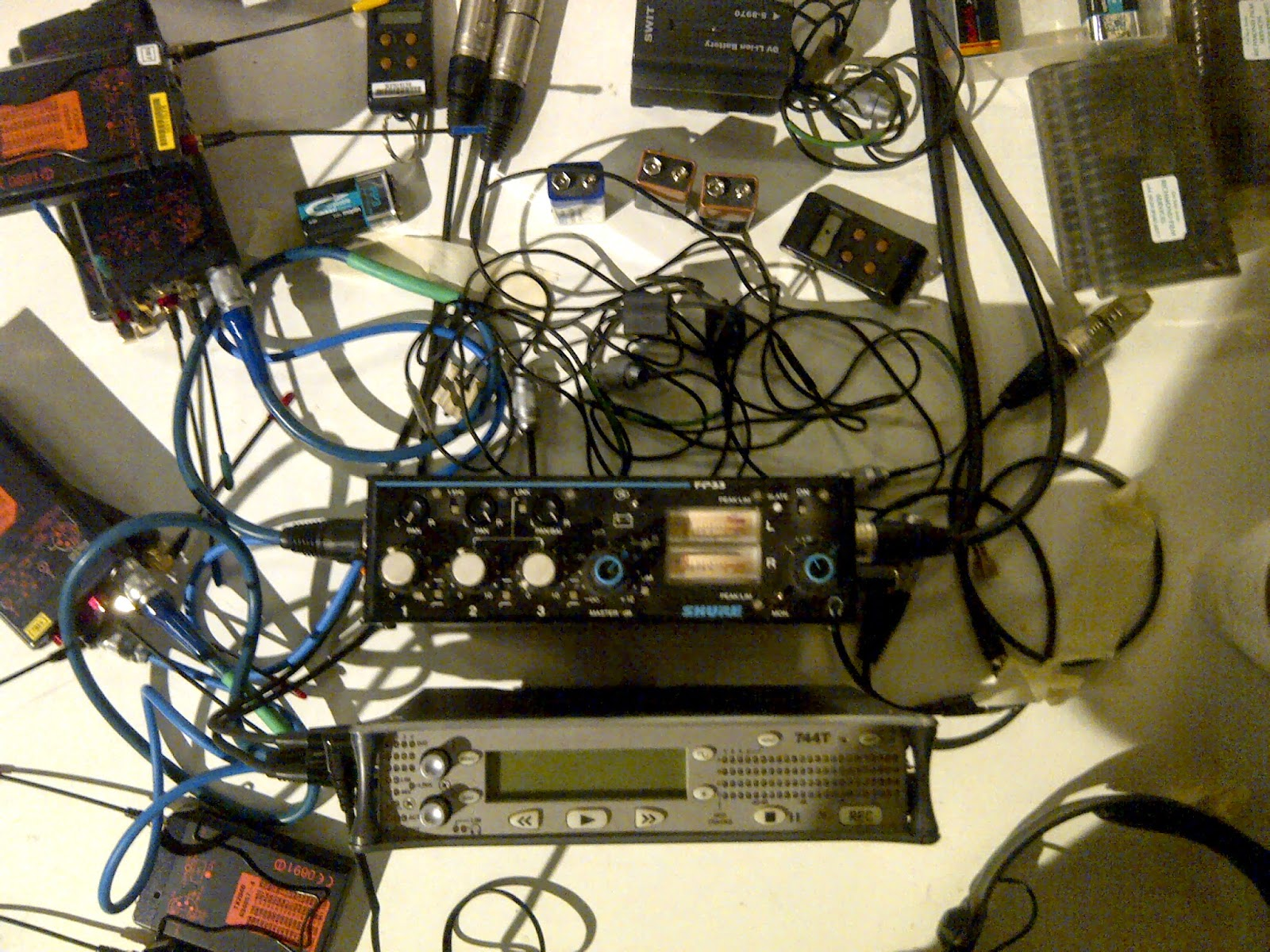 744t Sound devices