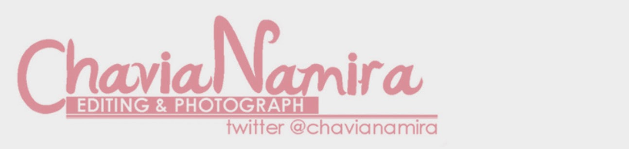 "Chavia Namira ""Editing & Photograph"""
