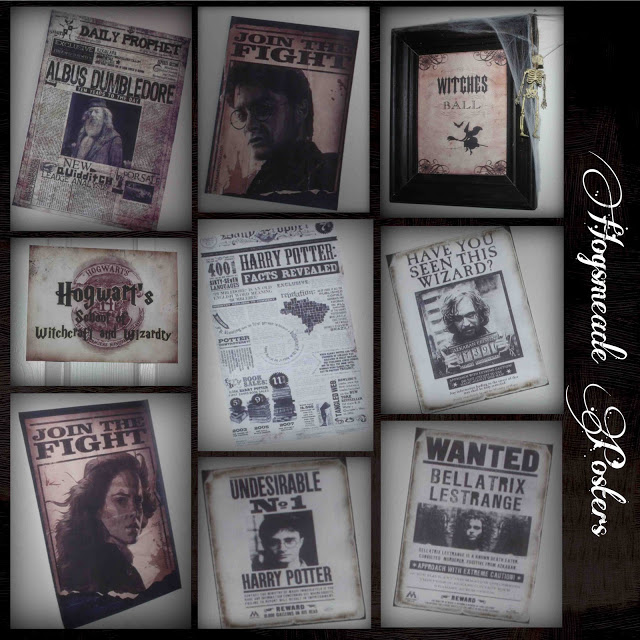 photo regarding Harry Potter Daily Prophet Printable referred to as only Lovable and Very simple: Harry Potter Key Supper Occasion