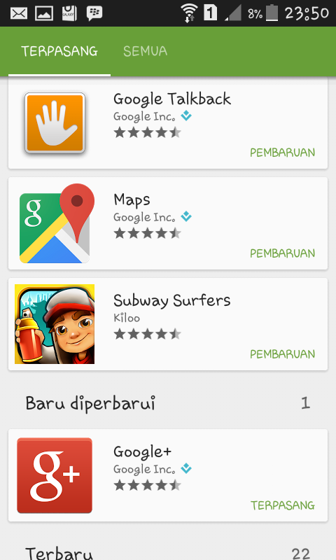 Cara Nonaktifkan Auto Update Game Subway Surfers