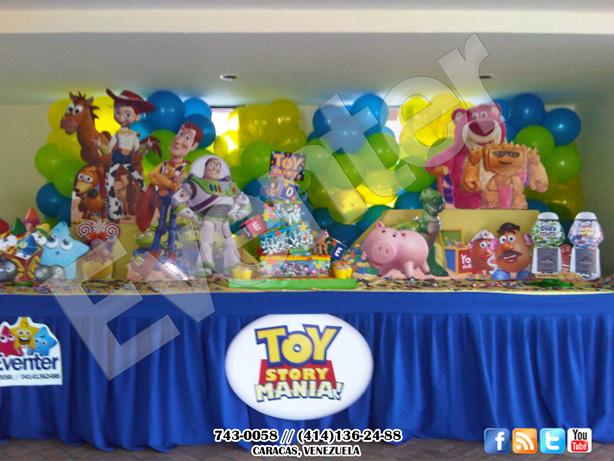 Decoración Toy story 3 en caracas