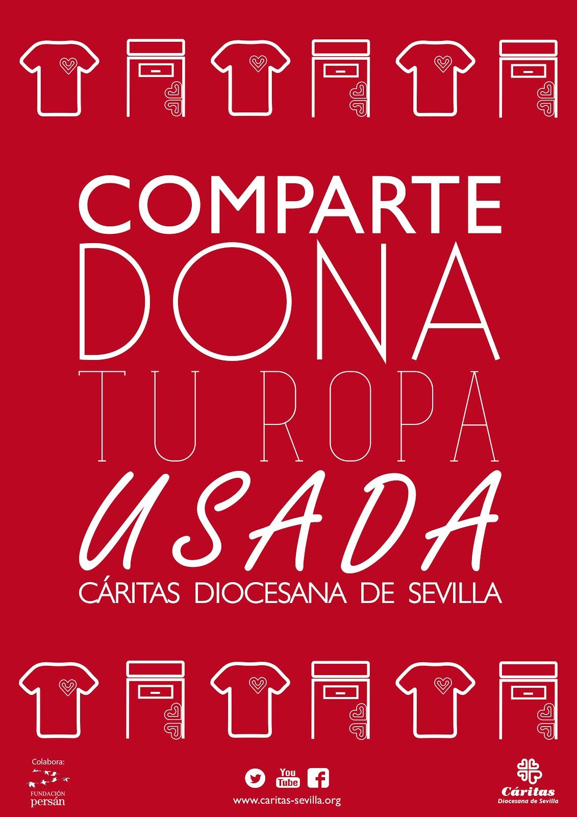 COMPARTE, DONA TU ROPA USADA