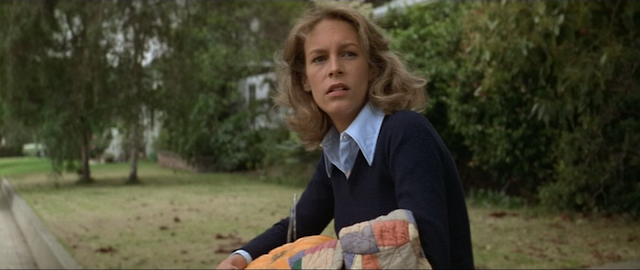 Jamie Lee Curtis as Laurie Strode in HALLOWEEN (1978)