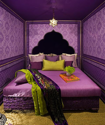 cuarto violeta