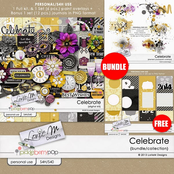Celebrate Collection/Bundle (Free Journals)