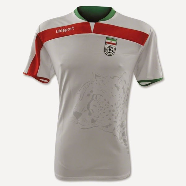 Jersey Negara Iran - Piala Dunia 2014