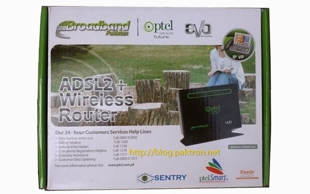 ptcl router kasda kw5815u box pack