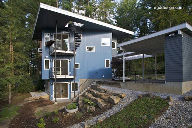 Casa moderna estilo Contemporáneo en Great Barrington, Berkshire County, Massachusetts, Estados Unidos