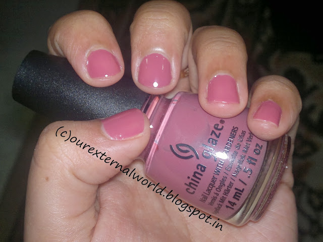 China Glaze Fifth Avenue - Swatches