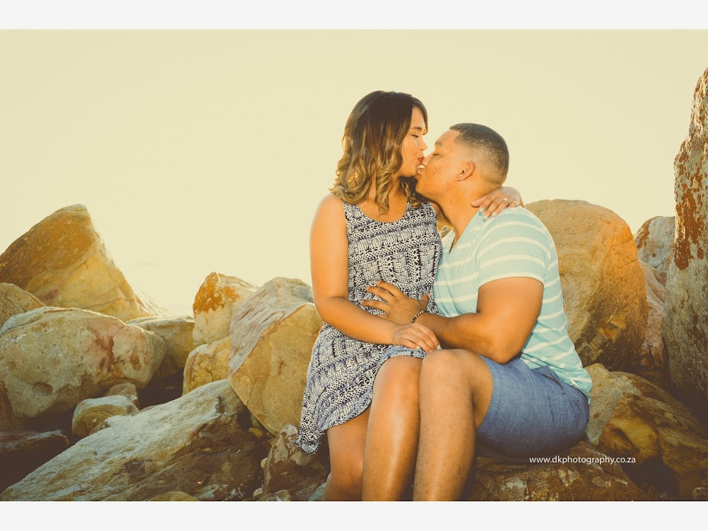 DK Photography LASTWEB-059 Robyn & Angelo's Engagement Shoot on Llandudno Beach { Windhoek to Cape Town }  Cape Town Wedding photographer