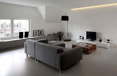 desain interior apartemen mewah dan elegan