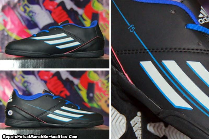 Jual Sepatu Futsal Adidas F5 Messi Hitam 2