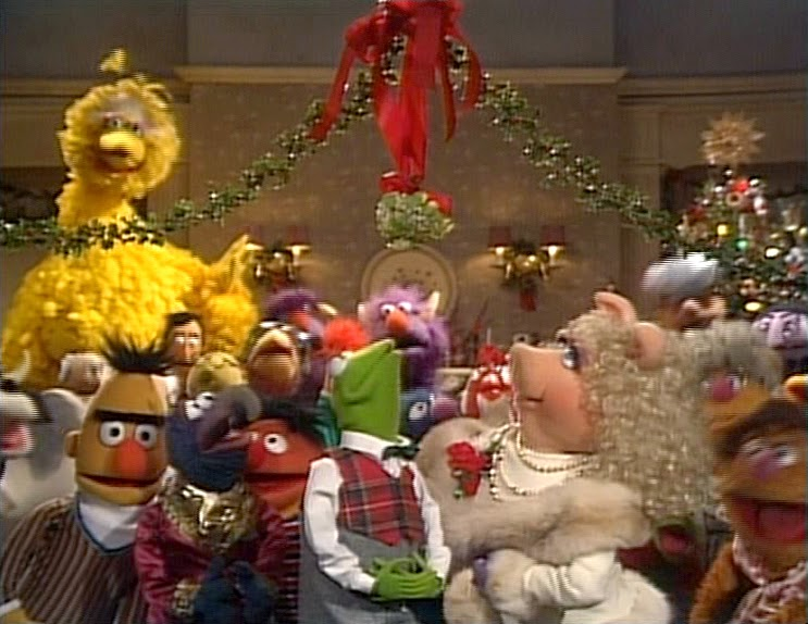 the premise what happens when all and i mean all the muppets spend christmas at fozzies moms house in the country - Muppets Family Christmas