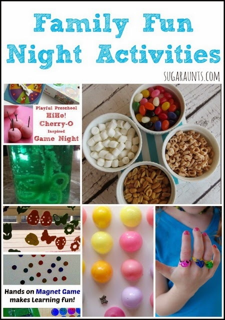 Activities for Family Fun Night