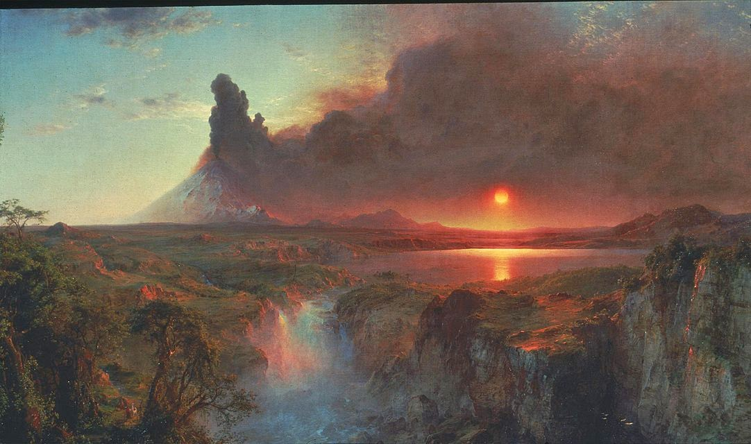 Frederic Edwin Church - Cotopaxi,1862.