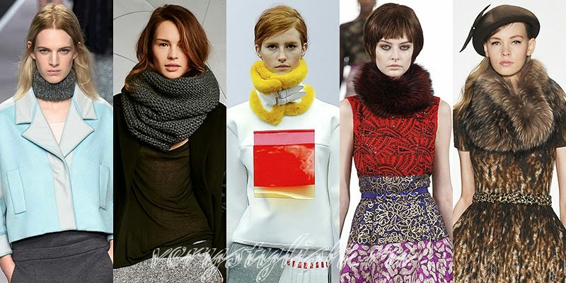 2015 Scarves Fashion Trends  Fall Winter 2014 2015 Fashion Trends Fashion Scarf Trends For 2014/ 2015
