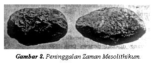 Artifak Zaman Batu Tengah