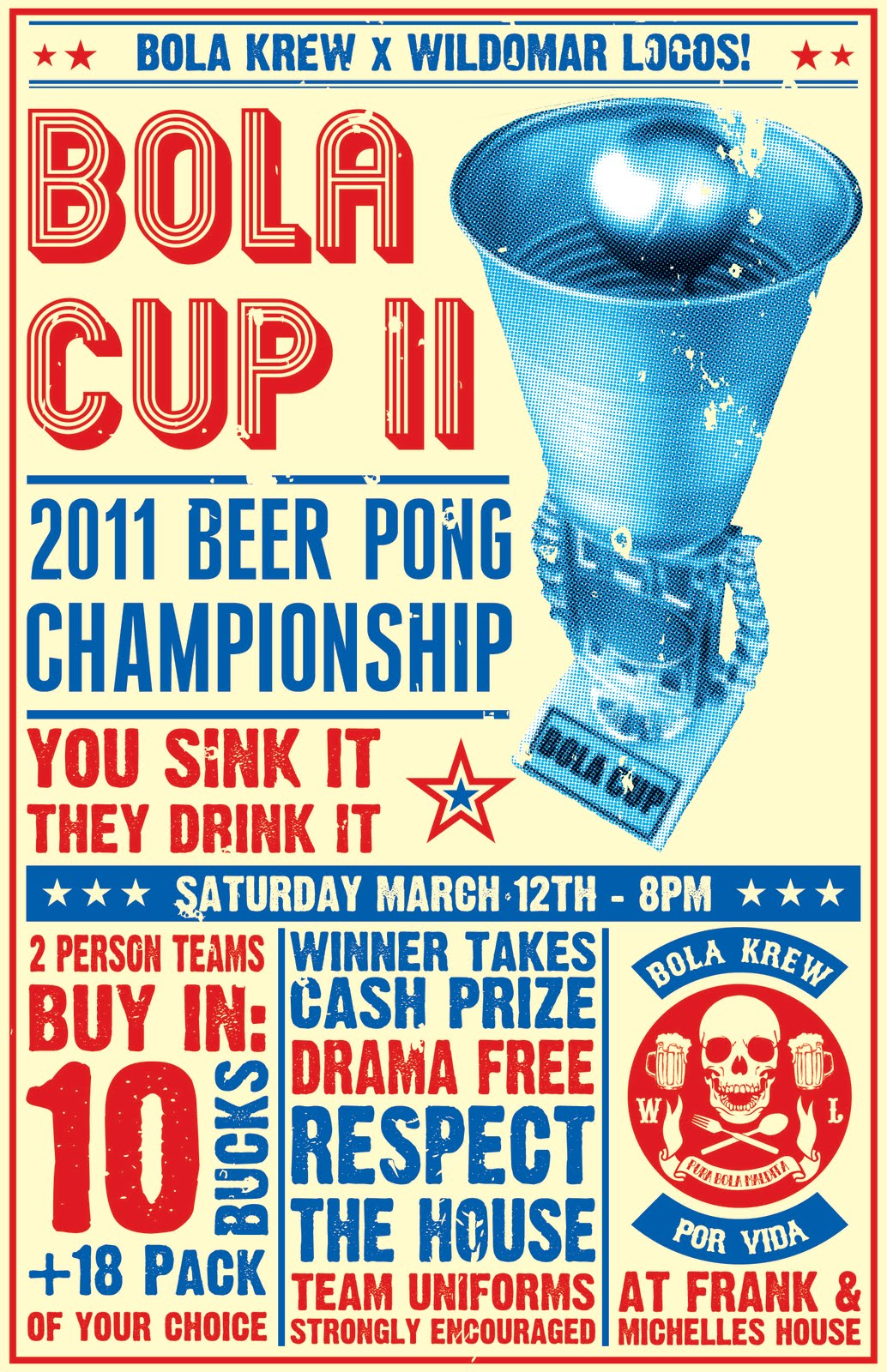 an overview of the rules of beer pong
