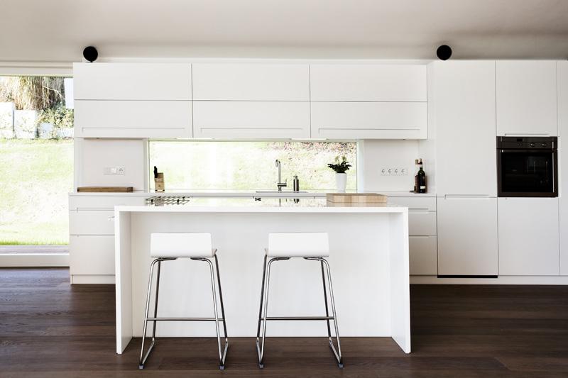 Interiores minimalistas villa 3s la casa del arquitecto - Casas minimalistas interiores ...