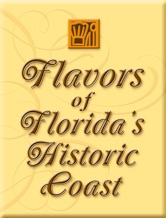Attention, Foodies! 5  Flavors FHC button St. Francis Inn St. Augustine Bed and Breakfast