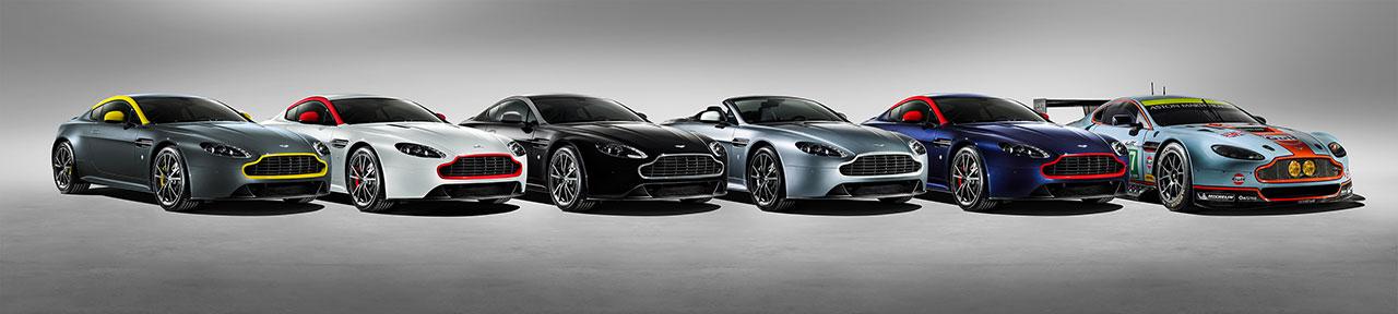 Aston Martin V8 Vantage N430 line