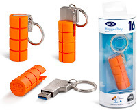 LaCie RuggedKey USB 3.o flash drive photo