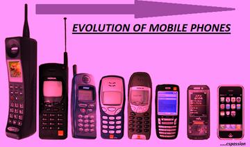 EVOLUTION OF MOBILE PHONES 2015