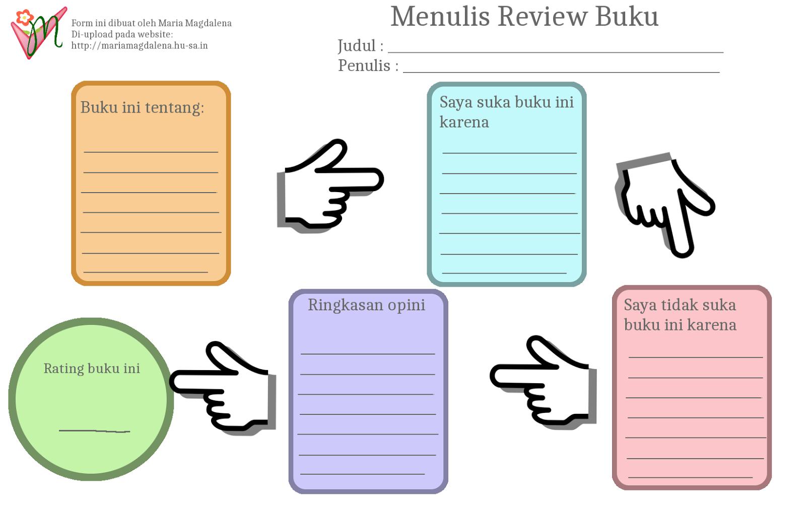 Menulis Review Buku Maria Magdalena Living Ideas