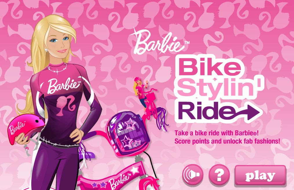 barbie bike games