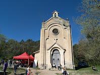 Façana principal de la capella de Sant Roc