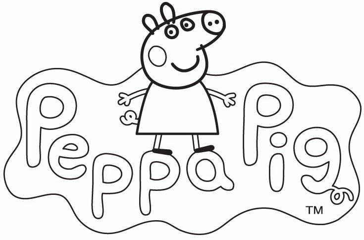 Dibujos De Peppa  New Calendar Template Site
