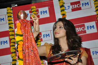 BIG 92.7 FM celebrating Gudi Padwa with Eesha Koppikar