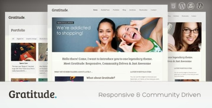 Gratitude - BuddyPress & Responsive WordPress Theme