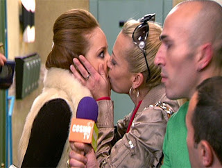 belen esteban actriz en aida beso