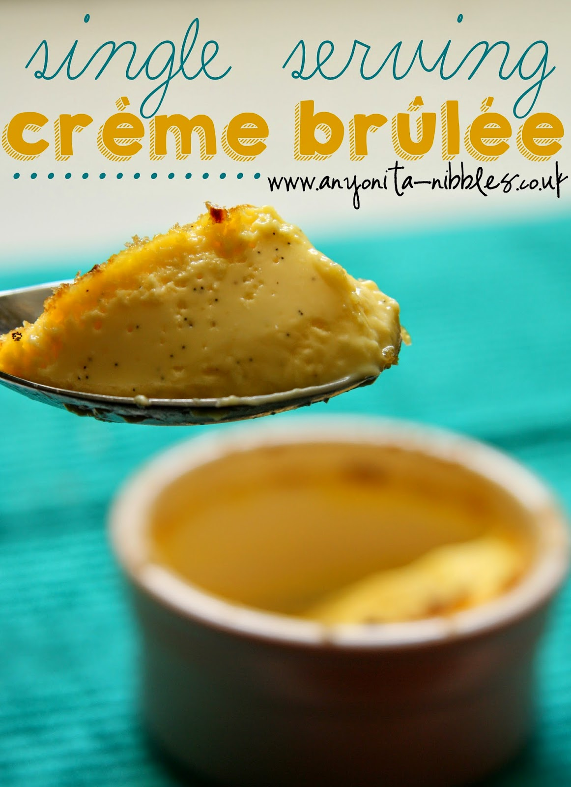 A spoonful of golden and indulgent #glutenfree crème brûlée from Anyonita Nibbles