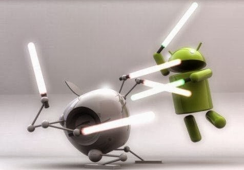 Android Versus iPhones