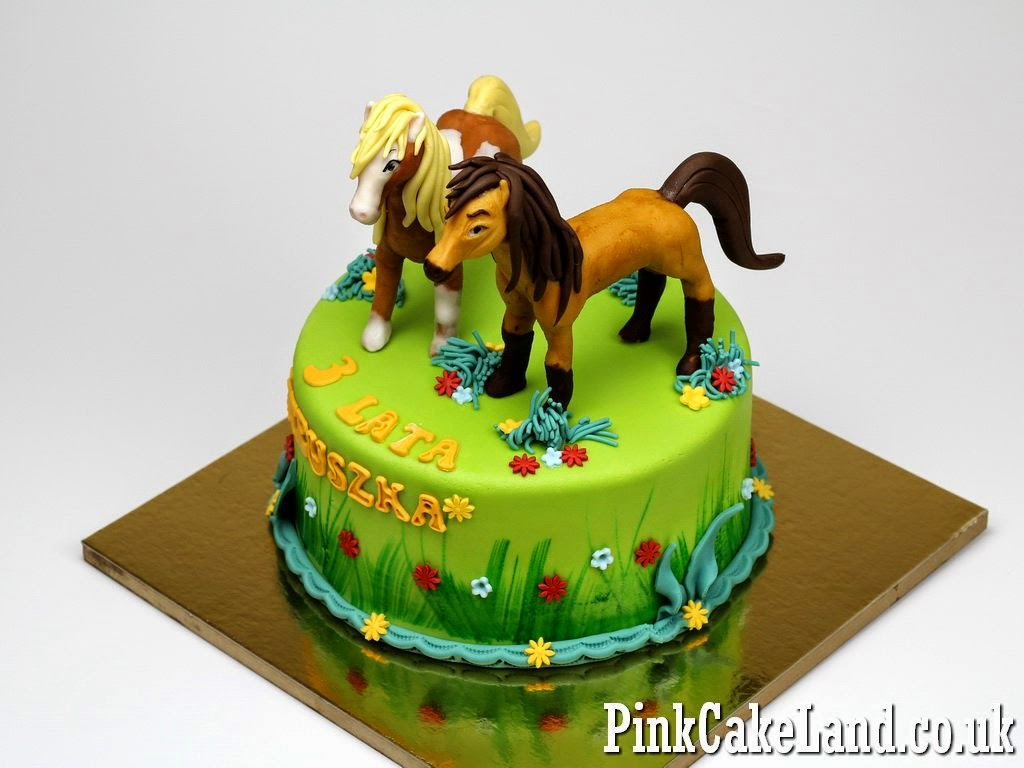 Horses Birthday Cake, London
