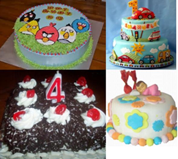 Gambar Aneka Kue Ulang Tahun