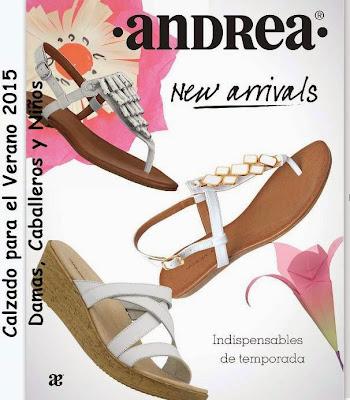 Calzado Indispensable Andrea verano 2015